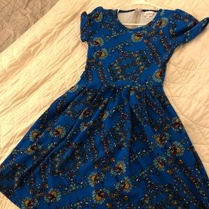 BRAND NEW WITHOUT TAG: Lula Roe Amelia Dress (XS)